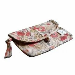 Padded Ladies Cotton Printed Wallet