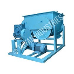 Double Shaft Ribbon Mixer
