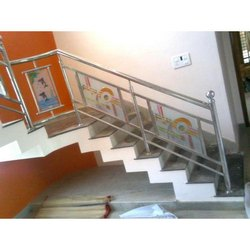 Stainless Steel Glass Handrail Fabrication Service