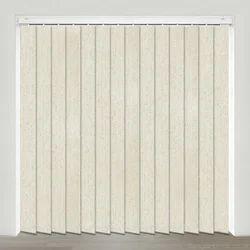 Glemtech Polyester Silver Vertical Blinds