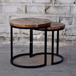 Hotel Furniture Tables - Nested Coffee Table - Resort End Tables, Hotel Side Tables
