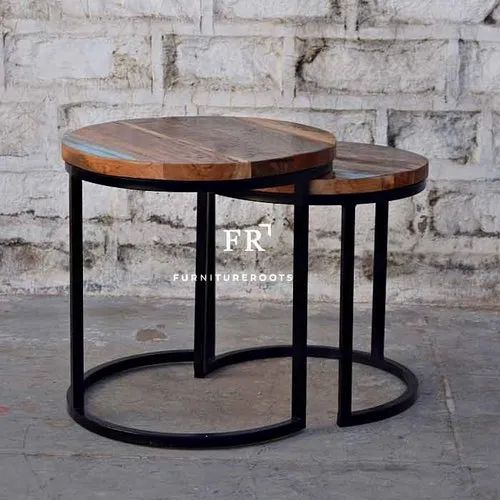 Hotel Furniture Tables Nested Coffee Table Resort End Tables