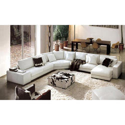 Cushion Back 5 Inch Hotel Sofa Set
