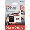 Sandisk 64 GB Memory Card Class 10