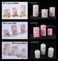 Dp-5 C Designer Work Pillar (Big) Candle (1 Pc / Pkt)