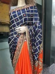 Silk Half Hand Saree