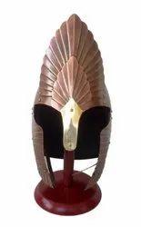 Elendil Armor Greek Knight Helmet Steel Adult Wearable Size with Wooden Stand