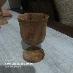 Wooden Tea Glass