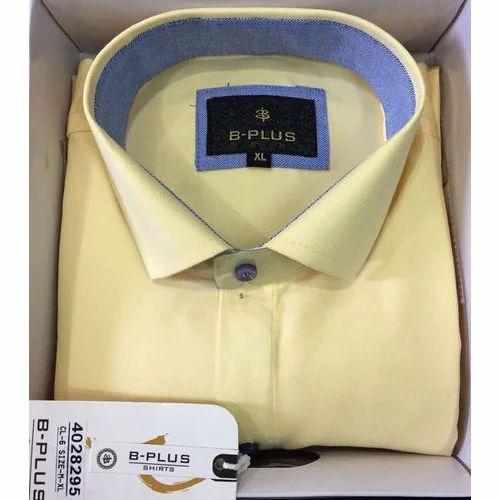 247acbe6e71 B Plus Plain Formal Shirt