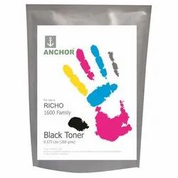 Anchor Ricoh 1600 Family Black Single Toner