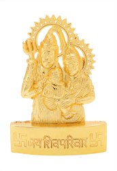 Golden Shiv Parivar Statue