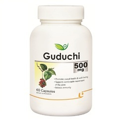 Biotrex Nutraceutical Biotrex Guduchi 500mg Capsules