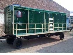 Mobile Bio Toilet Van With Solar System