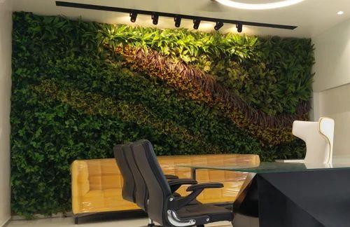 Artificial Vertical Garden , Artificial Green Bush Vertical