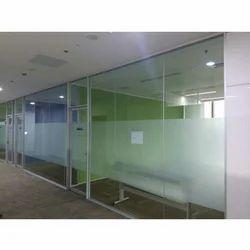 Transparent Toughened Glass Work, Shape: Recangular