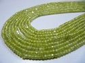 Olive Green Color Cubic Zircon Beads
