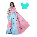 Butterfly Embroidery Saree