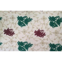 Embroidered Mulberry Fabric