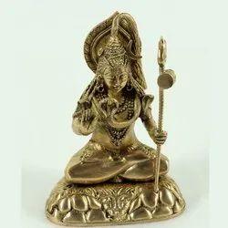Capstona Brass Shiva Sitting Idols