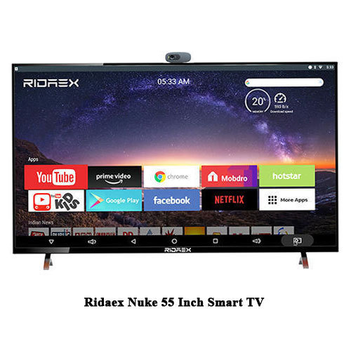 Ridaex Nuke 55 Inch 4k Led Android 7 1 Smart Tv