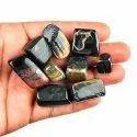 Natural Black Tiger Eye Gemstones Tumbles
