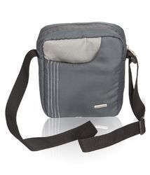 Dark Grey & Light Grey Sling Bag for Men