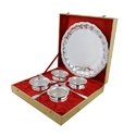 Silver Plated Traditional Handi Set