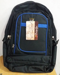 Matti Black School Bag