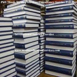 PhD Thesis Writing Services Consultancy Service Provider