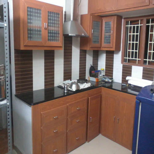 Pvc Modular Kitchen Manufacturer From: Wooden Modular Kitchen, Lakdi Ka Modular Rasoi Ghar