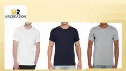 Custom Light Weight Round Neck T Shirts