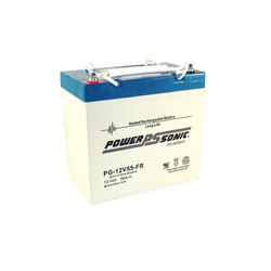 Powersonic 12V 55AH Sealed Lead Acid Battery