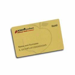 Glitter Gold Card