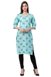 VFLK-42C Daily Wear Cotton Printed Kurti