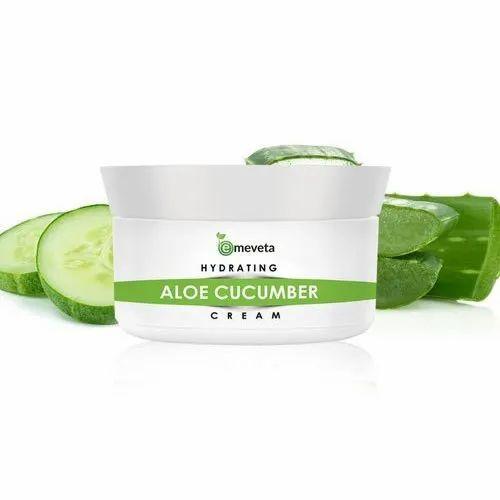 Emeveta Natural Aloe Cucumber Cream, Packaging Size: 10 Gm