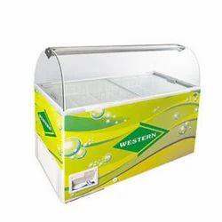 Scooping Freezer