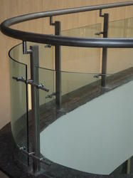 Flat Glass Railing