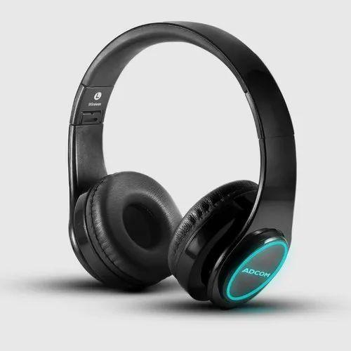 Adcom Luminosa - Wireless Bluetooth LED Over-Ear Foldable Headset ...