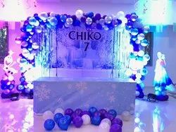 Balloons College Party Balloon Decoration Services, For Frozenbirthday Theams