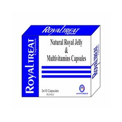 Natural Royal Jelly and Multivitamins Capsules