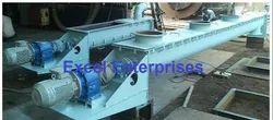 Excel enterprises mild steel Screw Conveyor, Capacity: 100 Kg