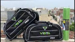 Black Travel Duffle Bag, Size: 30*18