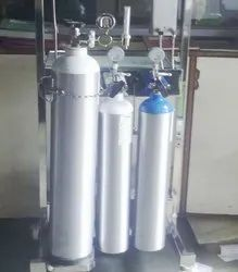 N2o And O2 Cylinders For Anaesthesia Machine