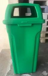 Open Top Plastic Dustbin 100 Lit