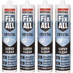 Soudal Fix All Crystal Sealant Glue