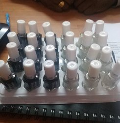Black and white Nail Polish, Box, for Business
