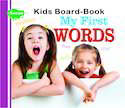 Kids Board Book My First Words