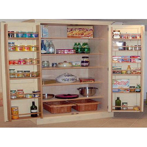 Brown Wooden Kitchen Storage Rack Rs
