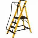 Youngman Megastep 4 Tread Industrial FRP Heavy Duty Ladder