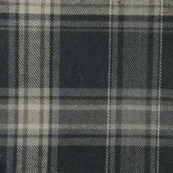 Organic Cotton Flannel Checked Fabric